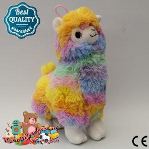Alpaca Pluche Gekleurd