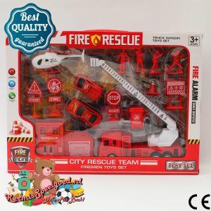 Brandweer Kazerne Set